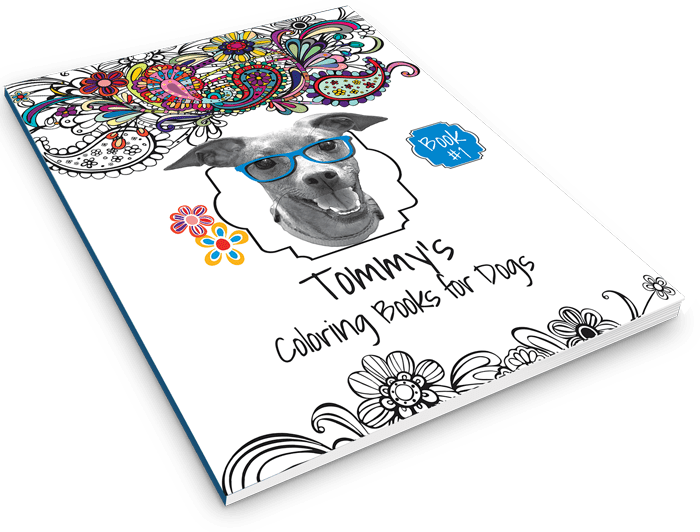 Tommy Coloring Book for Dogs - Book #1