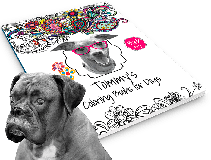 Tommy's Coloring Book + Dog