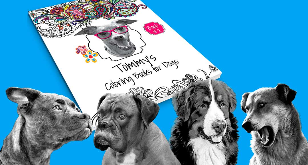 Tommy Coloring Book #2 + Dogs