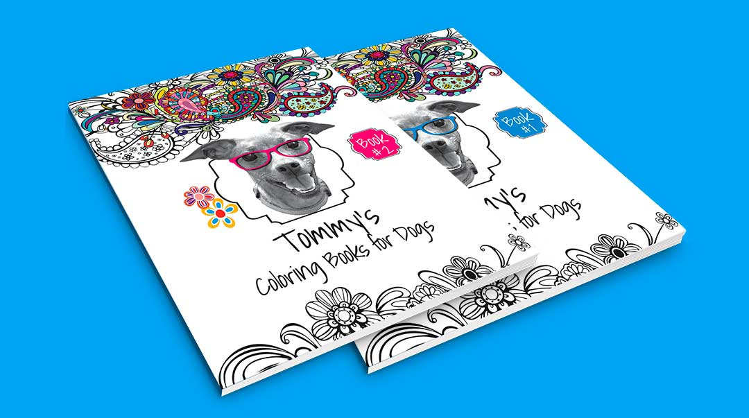 Tommy's Coloring Books for Dogs