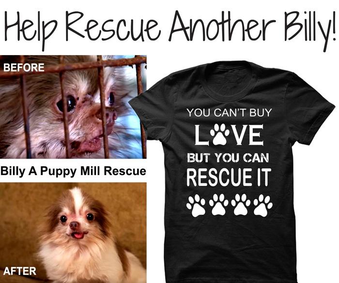 Billy puppy mill t-shirt