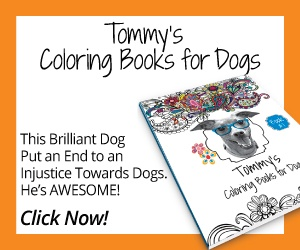 Tommy's Coloring Book for Dogs